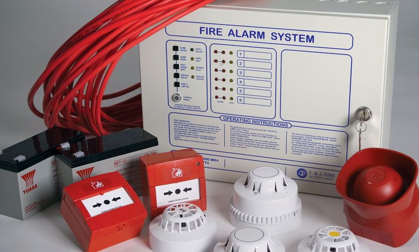 Fire Alarms amp Detectors TJ Security Tjfirecouk