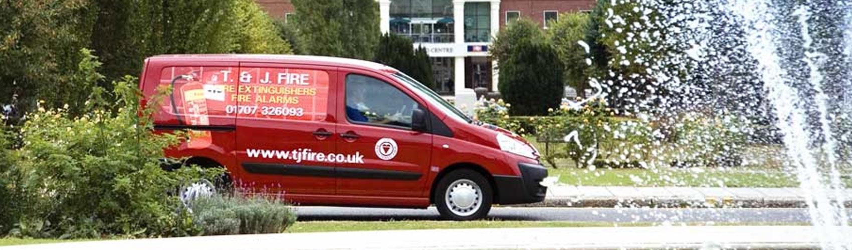 T&J Fire Van in Welwyn Garden City