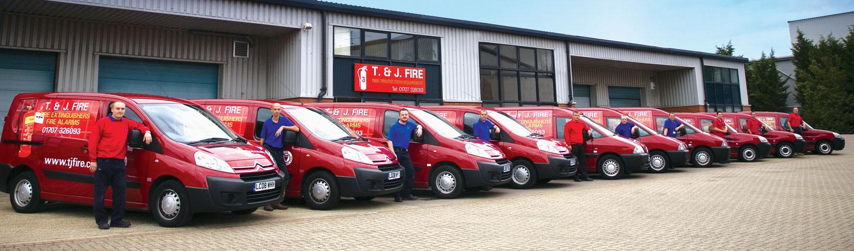 T&J Fire Vans