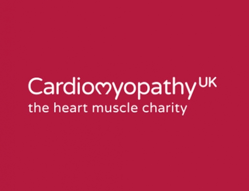 Our charity for 2016 will be Cardiomyopathy UK