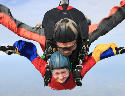 Skydive completed – What a rush