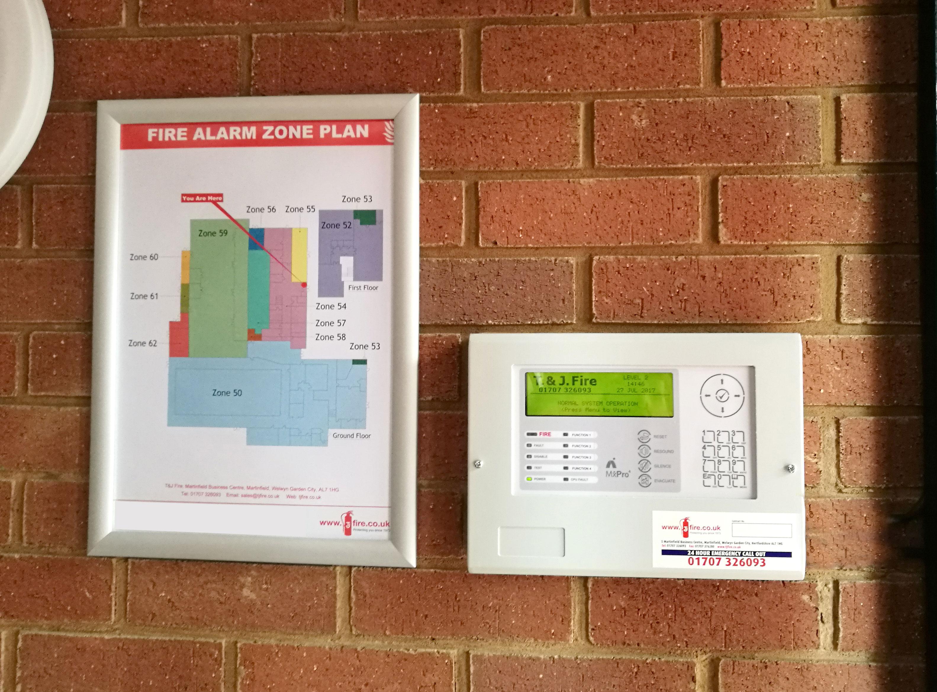 Alarm Zone Plan