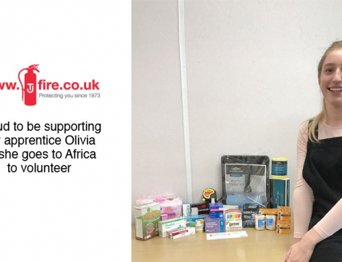 T&J Fire – Proud to Support Olivia on Her Volunteering Mission