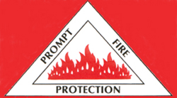 Prompt Fire Protection Logo
